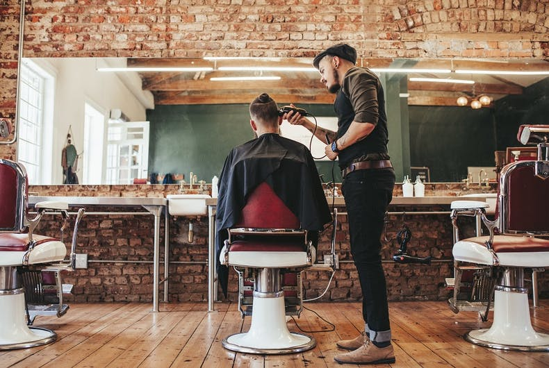 A men's barbershop refused to serve a trans man