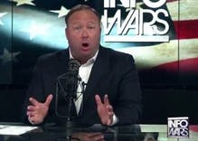 Alex Jones' denial that he watches trans adult movies on his phone is hilarious