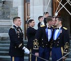 The first active-duty gay couple were married at West Point & their backstory is inspiring