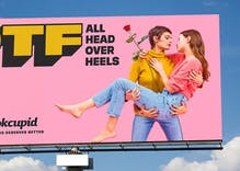 OKCupid is DTF in new ads featuring lesbians, the far right & pot smoking