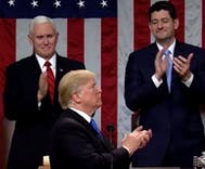White House pushes claim Trump broke 'nearly all applause records' during State of the Union