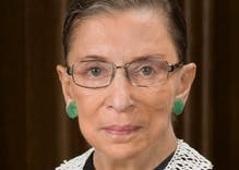 Ruth Bader Ginsburg assures us she will be around as long as possible to combat Trump