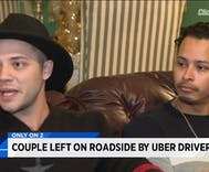 Did a gay couple break Uber's rules by giving each other a peck?