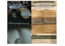 This couple ordered wedding programs, but got ex-gay conversion pamphlets instead