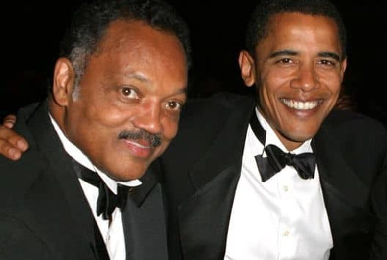 How Jesse Jackson helped bring gay rights to the Democratic mainstream