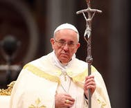 Pope Francis tells bishops to 'keep your eyes open' for gay seminarians