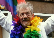 Ian McKellen on youth & labels: 'Fluidity is the future'