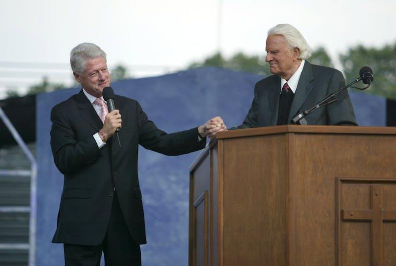 Evangelist Billy Graham dies at age 99