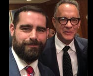 As selfies go, it's hard to top Brian Sims' day at the National Portrait Gallery