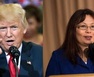 Senator Tammy Duckworth clapped back at Trump so hard his ears are still ringing