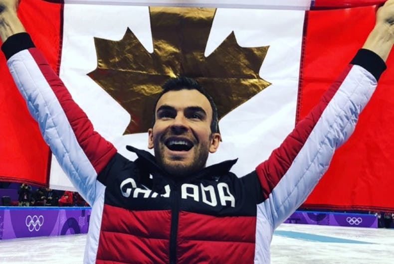 Canadian Eric Radford becomes first out athlete to win gold at Winter Olympics