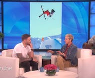 Gus Kenworthy talks to Ellen about being an openly gay Olympian & his anti-Pence comments