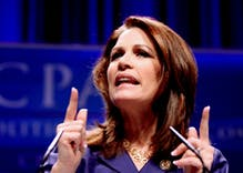 Michele Bachmann asked God if she should run for Senate. He wasn't on board.