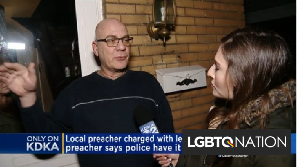 Pastor found with naked, bound man in car charged with