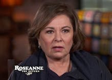 Roseanne on Trump: 'We're lucky to have him as a president'