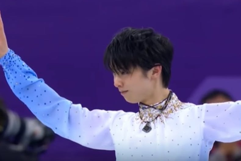 The skater who dashed Adam Rippon's gold medal dream is so good you'll forgive him