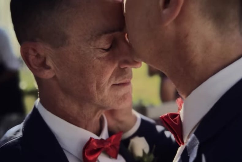 Apple celebrates marriage equality with joyous iPhone X ad