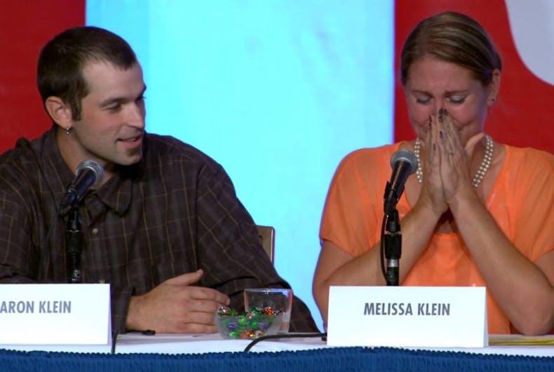 Aaron Klein Melissa Klein