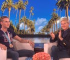 Adam Rippon goes on 'Ellen' to talk the Olympics, Pence, his crushes & working with GLAAD