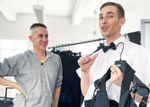 Adam Rippon's sexy Oscars outfit was almost even more outrageous