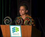 Watch this Parkland survivor's powerful speech that ties LGBT students to gun control