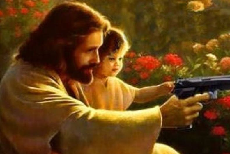 Christian leader says Jesus was 'advocating for the 2nd Amendment'