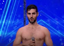This Israeli pole dancer's revealing routine will leave you in tears
