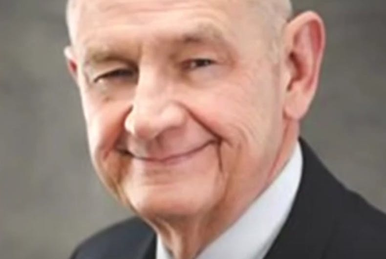 Senate chaplain: School shootings are God's punishment for marriage equality