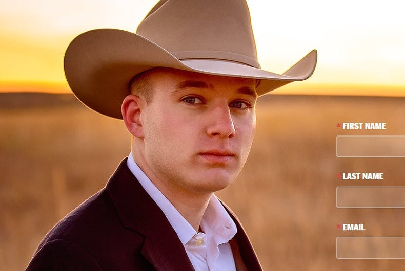 Meet Colton Buckley, the other gay Trump supporter running for office