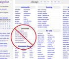Craigslist closes its personals section after sex trafficking bill passes