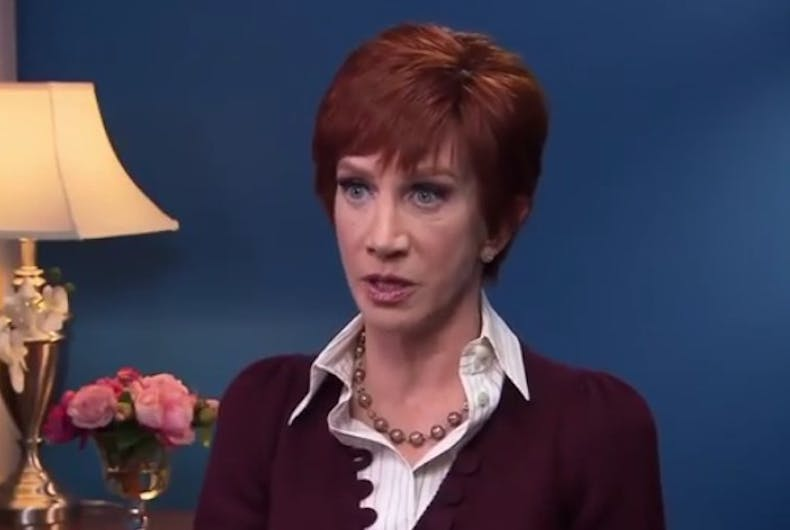 Kathy Griffin is back & she has some choice words for Donald Trump