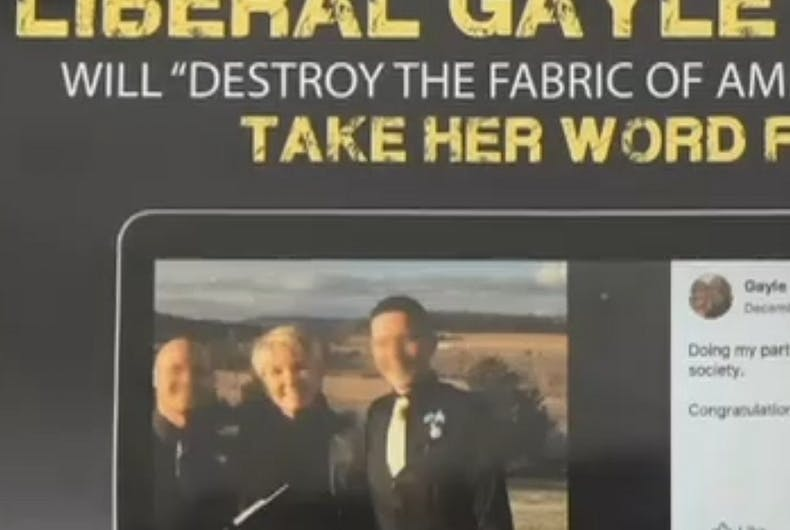 Gay couple sues after their wedding photo was used in a Republican attack ad