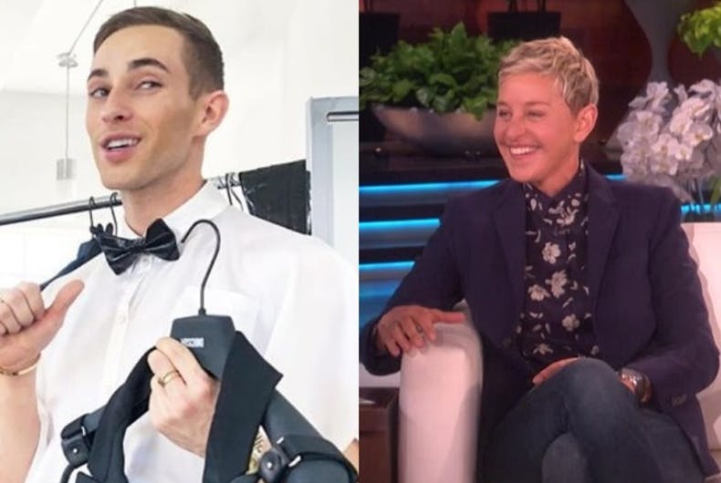 Would you watch Ellen & Adam Rippon's reality show?