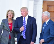 Is anti-trans discrimination a DeVos family value?