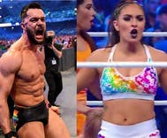Two pro wrestlers just made LGBT history at Wrestlemania 34