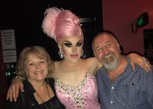 Christian mommy blogger attacks drag queen. The queen's dad took her to church.