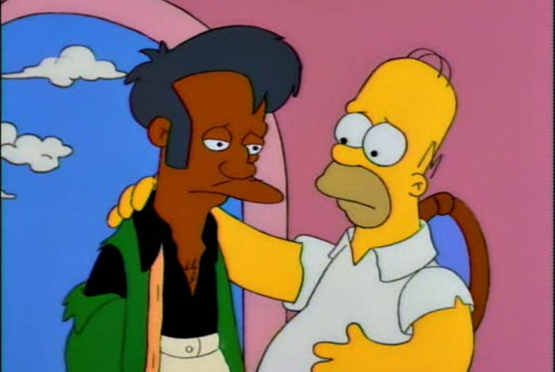 The Simpsons tackled Homer's homophobia in the 90s, but won