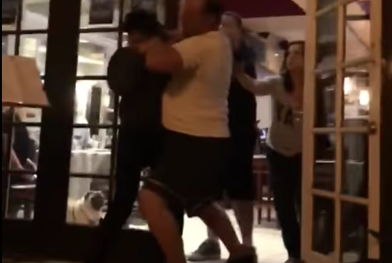 Gay men violently thrown out of posh resort restaurant will face owners in court