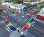 Phoenix is latest metropolis to get LGBTQ pride rainbow crosswalks