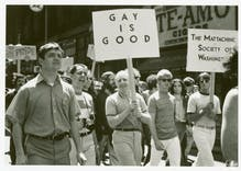 Pride in Pictures before 1970: A radical message that eventually goes mainstream