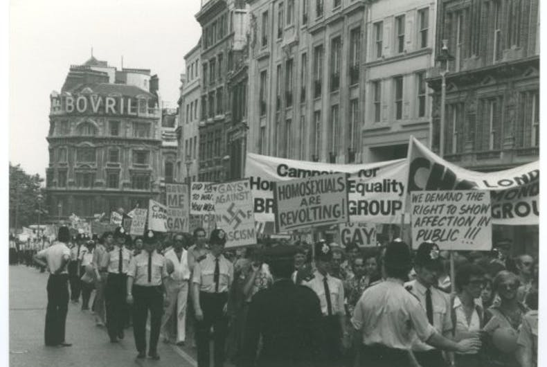 Pride in Pictures 1972: The parade hits London