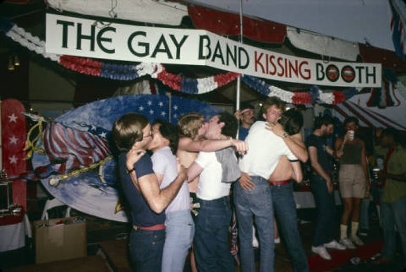 Pride in Pictures 1982: How kissing booths brought LGBTQ visibility
