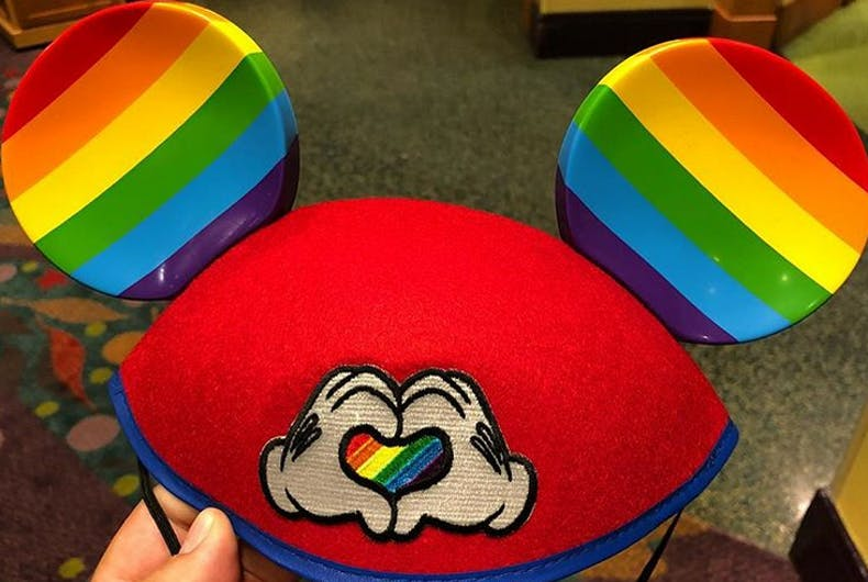Disney just released rainbow Mickey Mouse ears in time for Gay Days