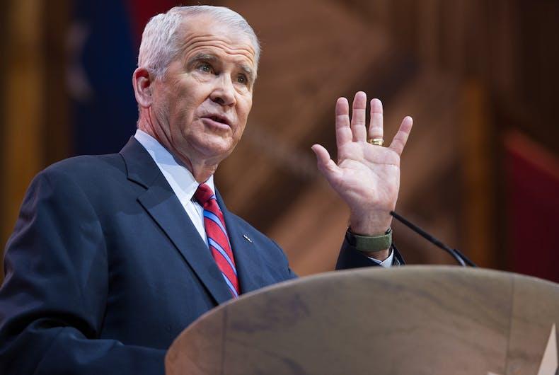 New NRA President Oliver North has a long & sordid anti-LGBTQ history