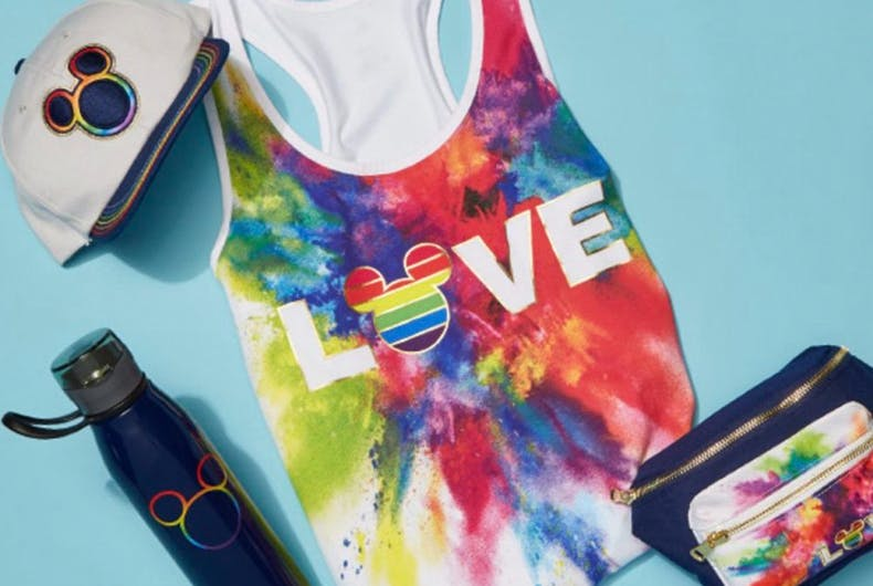Disney unveils 'Rainbow Mickey' merchandise just in time for pride season