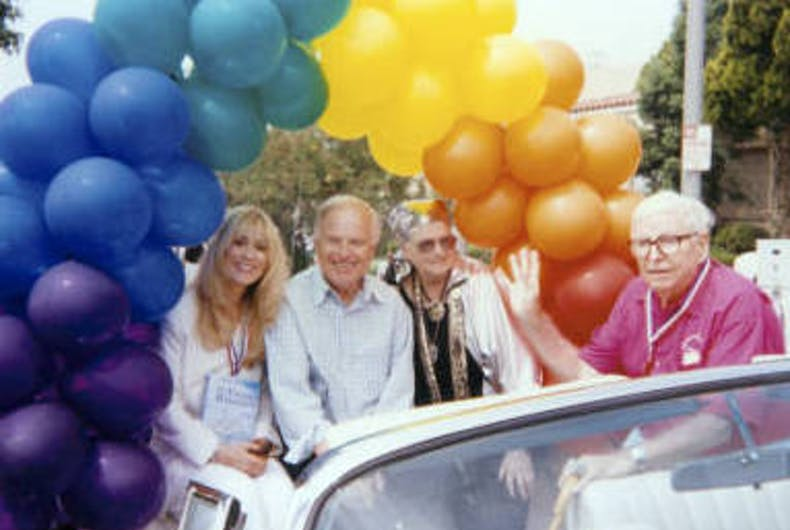 Pride in Pictures 1994: Stars of support — and a founding father