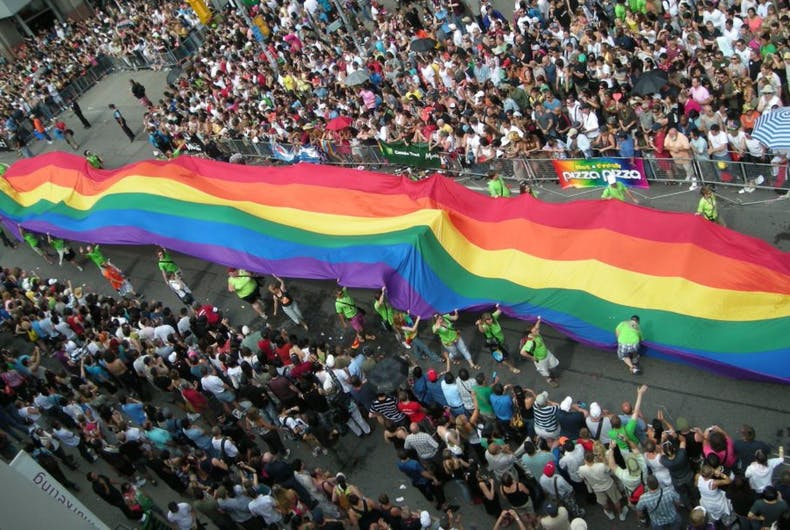 Pride in Pictures 2008: The Pride flag is now our icon