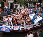 Pride in Pictures 2017: Amsterdam's boys on boats