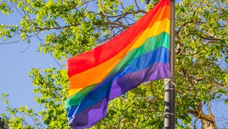 The history of the iconic LGBTQ rainbow flag