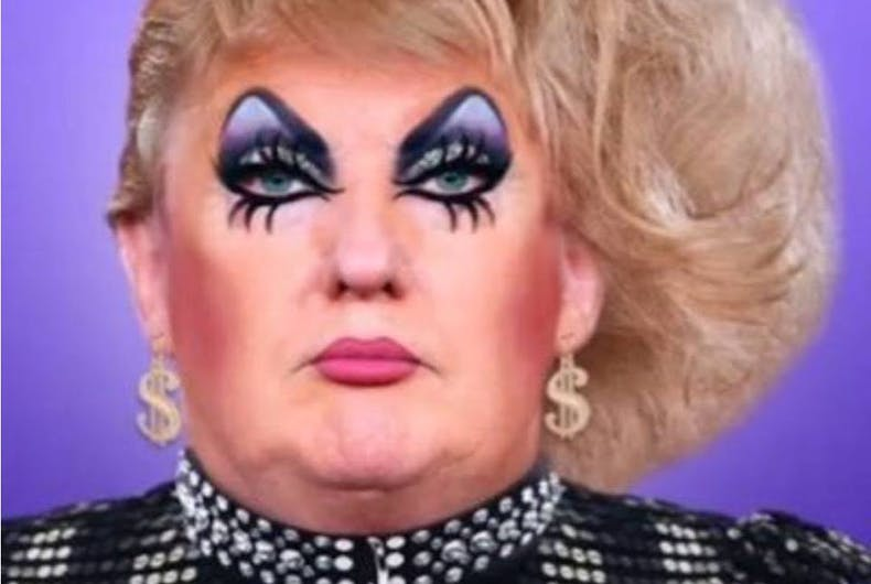 1,000 drag queens will 'welcome' Trump to London when he visits ...